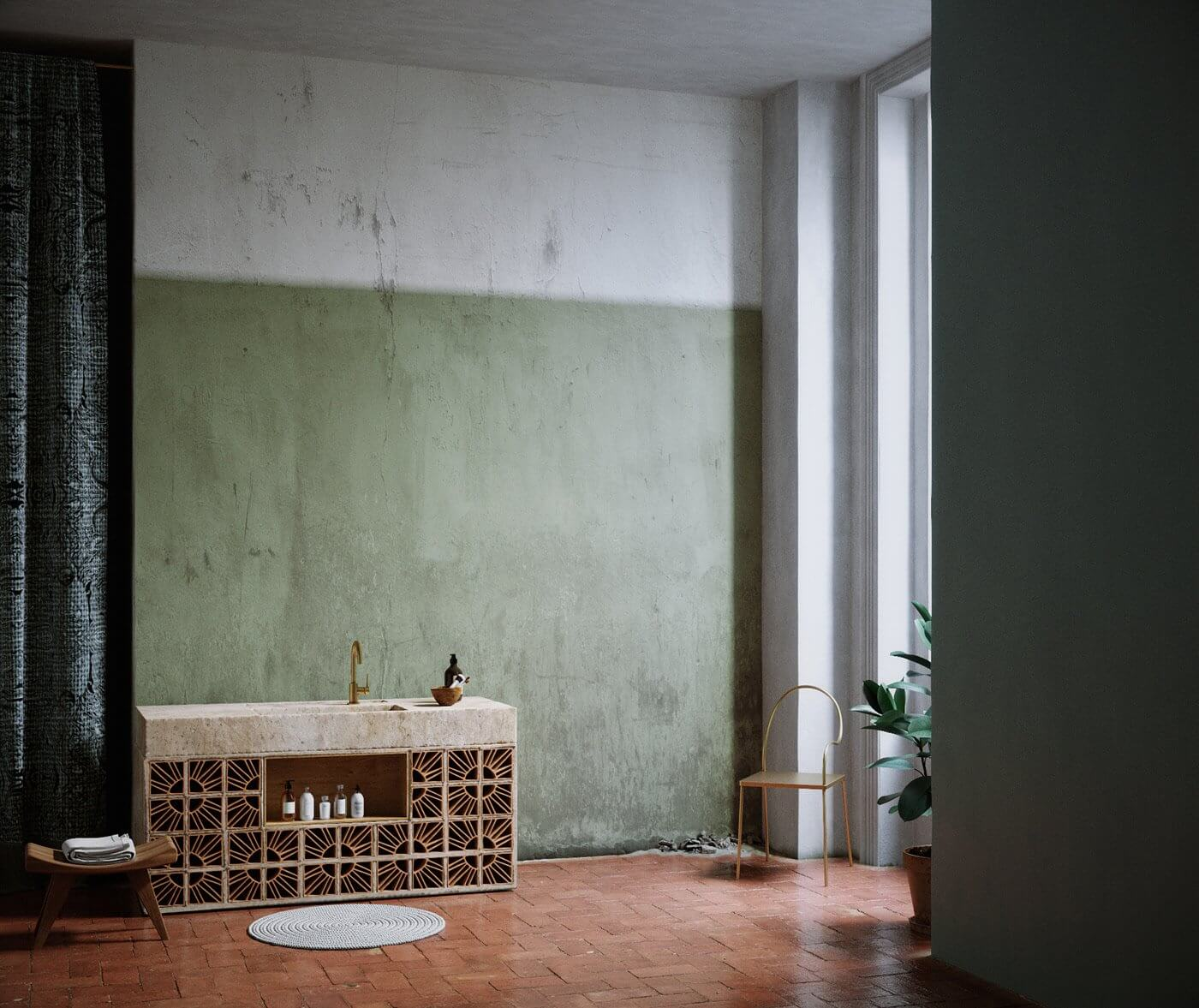 Softrime Bathroom Design - cgi visualization