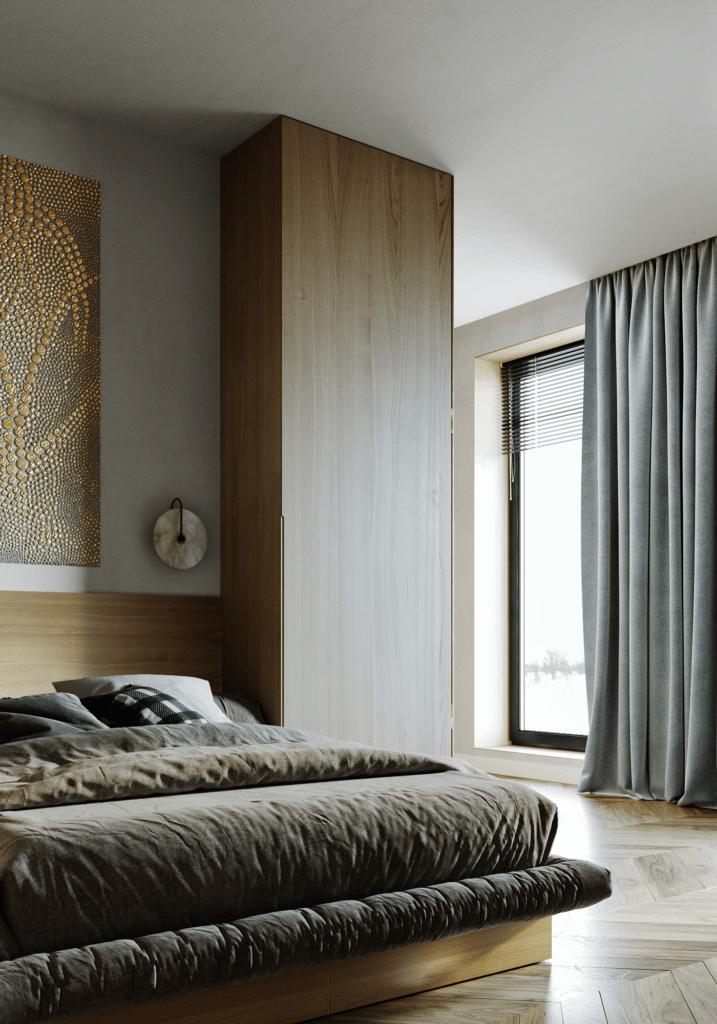 LA Pari Living & Kitchen Apartment - CGI Visualization(8)