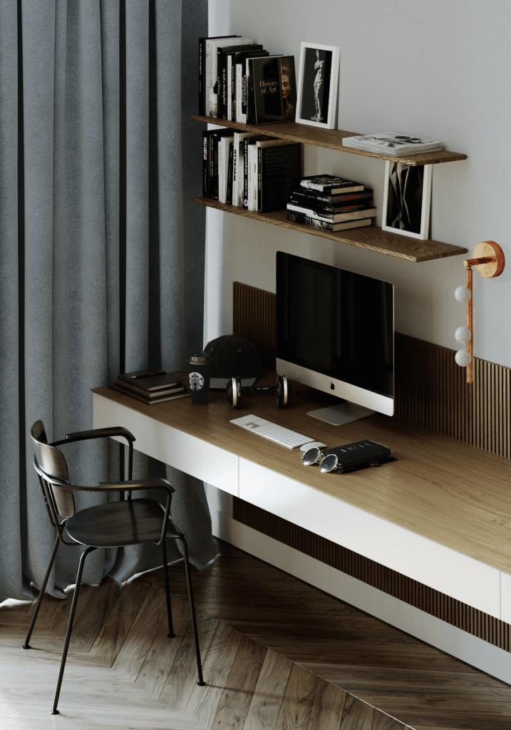 LA Pari Living & Kitchen Apartment - CGI Visualization(9)