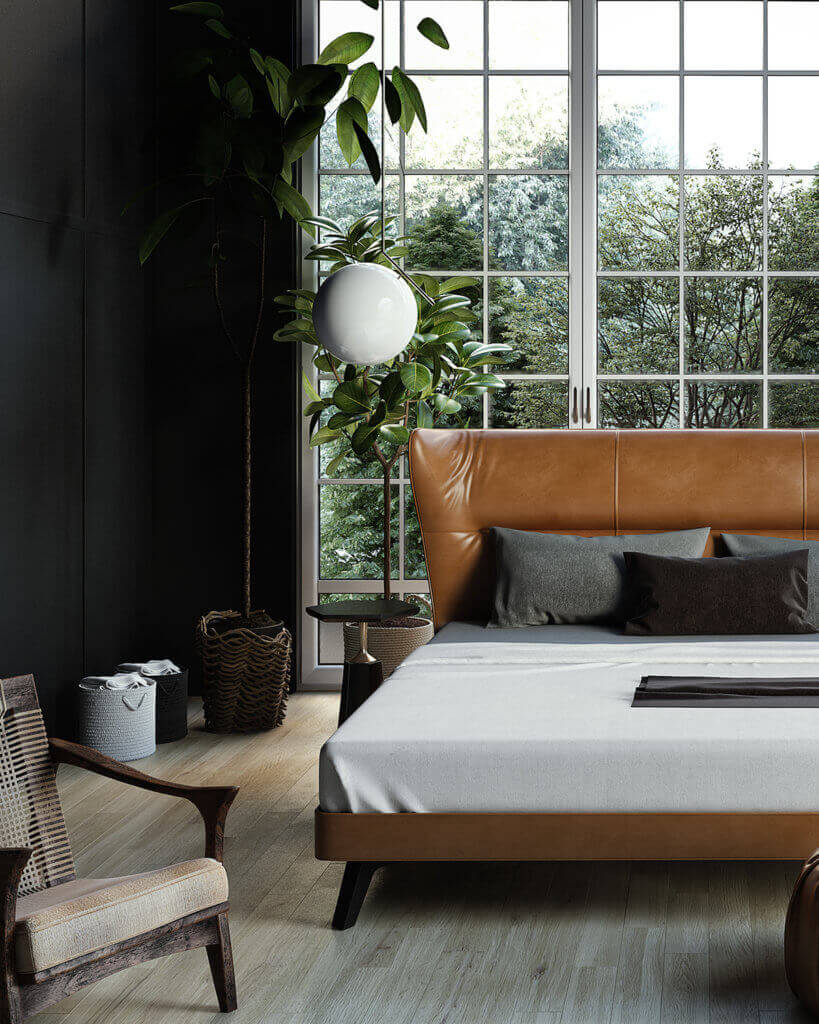 Trendy Bedroom Inspiration - cgi visualization