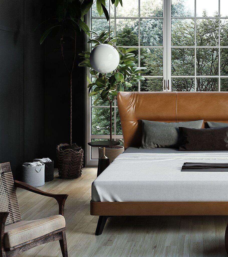 Trendy Bedroom Inspiration header - cgi visualization