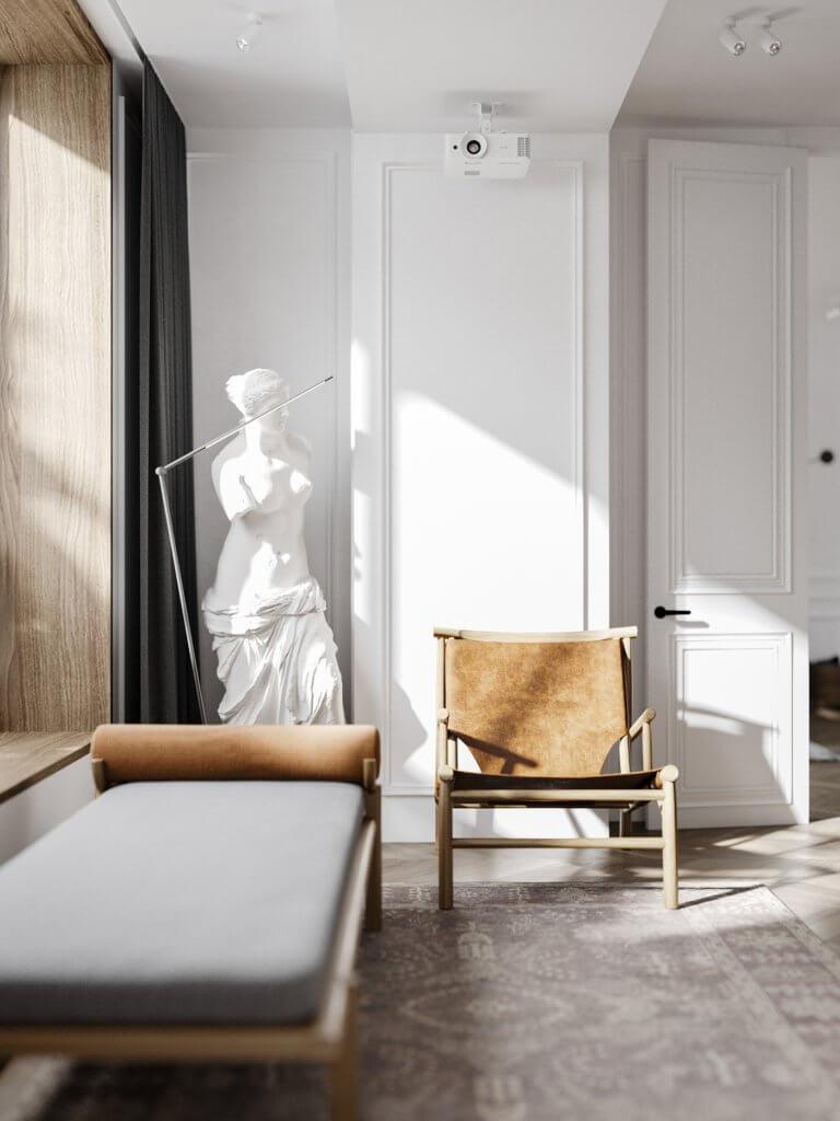 Bright and stylish apartment design - cgi visualization(10)