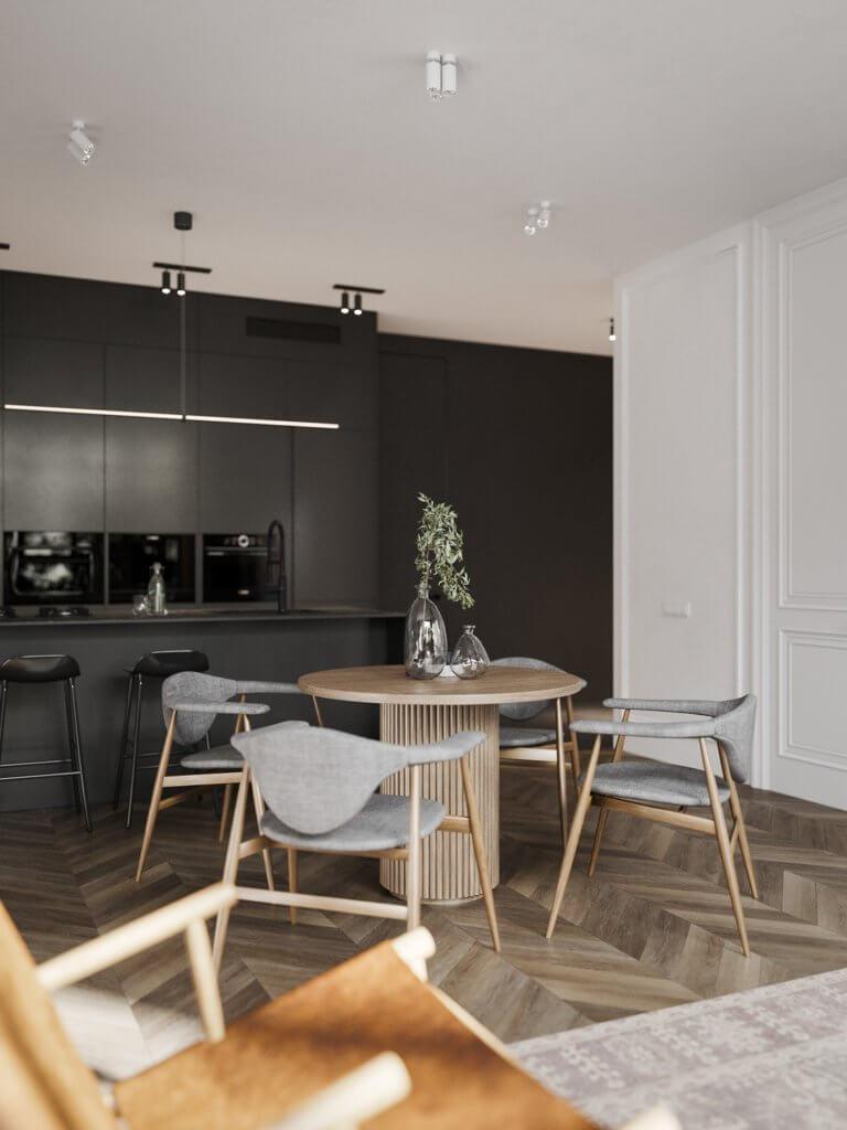 Bright and stylish apartment design - cgi visualization(11)