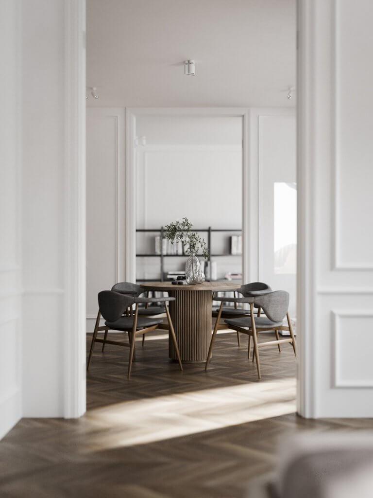 Bright and stylish apartment design - cgi visualization(14)