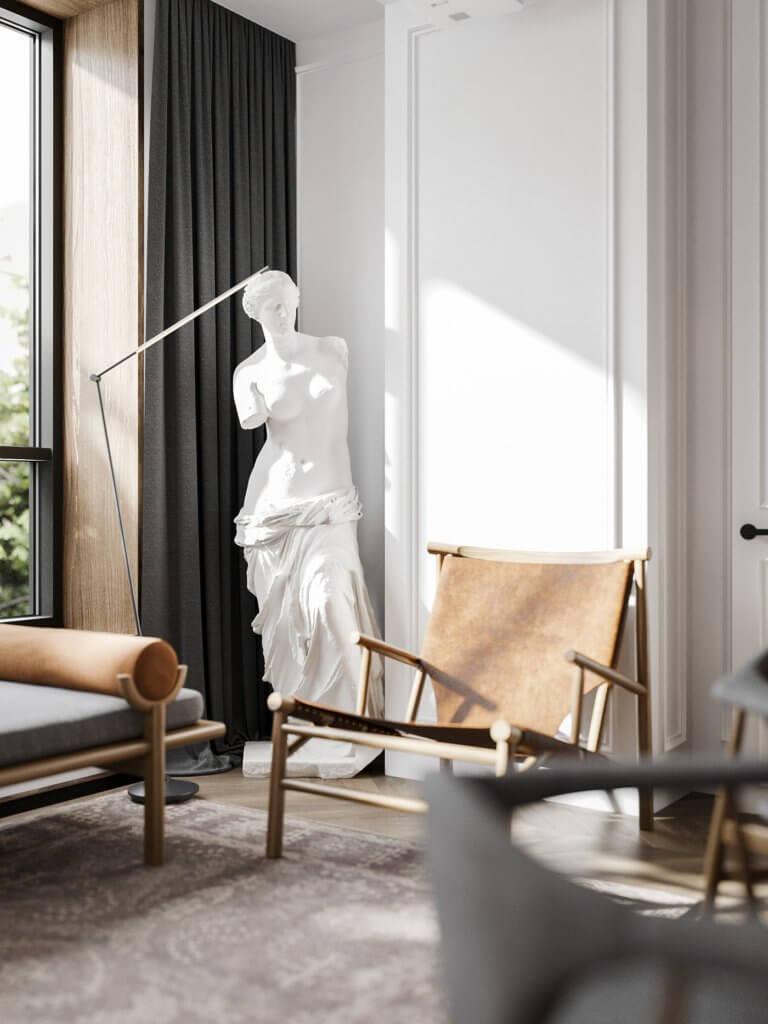Bright and stylish apartment design - cgi visualization(15)