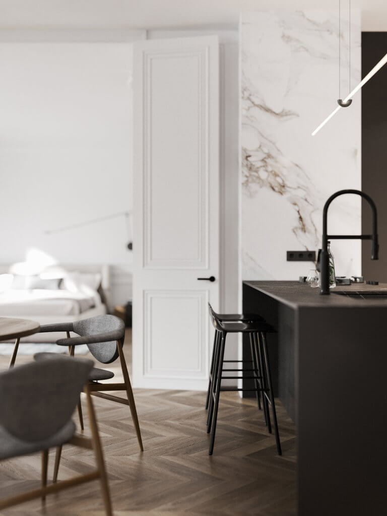 Bright and stylish apartment design - cgi visualization(16)