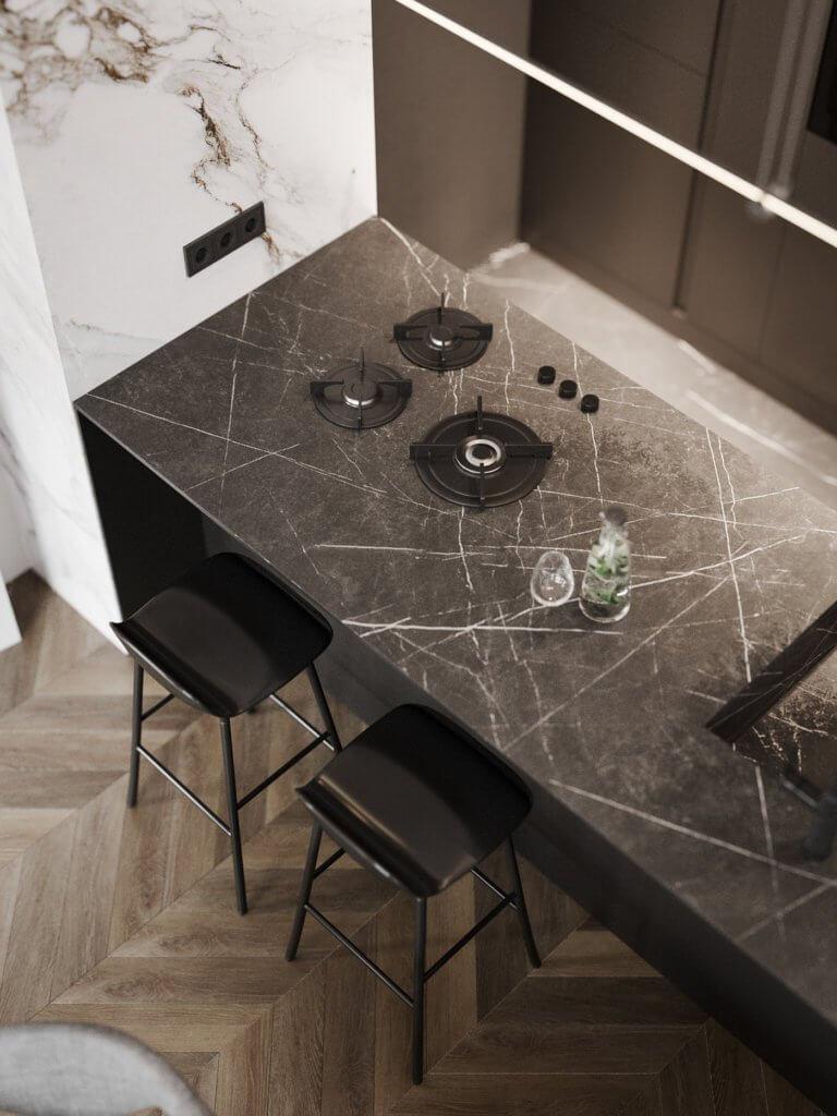 Bright and stylish apartment design - cgi visualization(17)