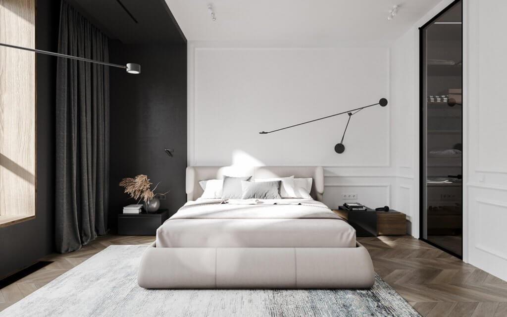 Bright and stylish apartment design - cgi visualization(19)