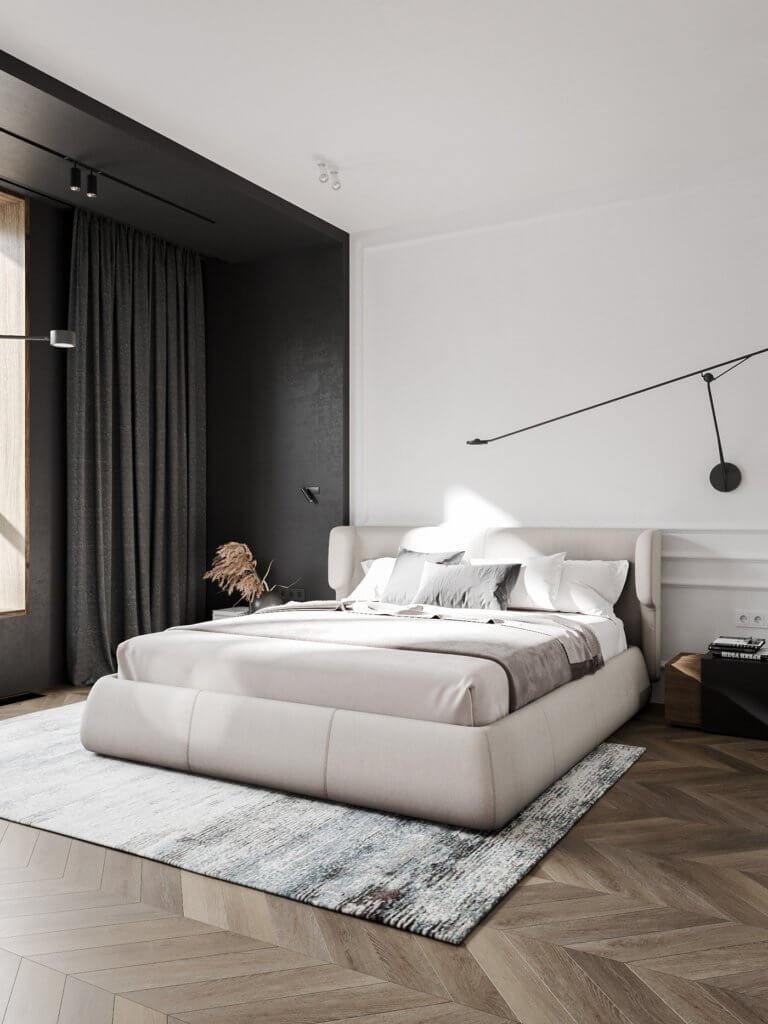 Bright and stylish apartment design - cgi visualization(20)