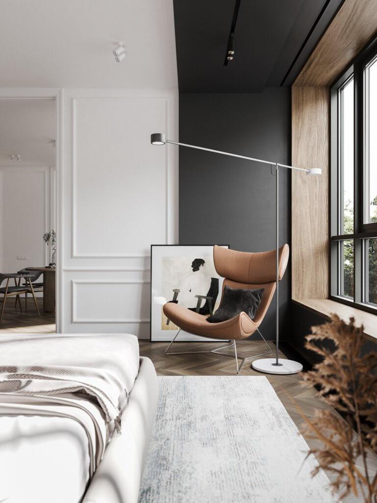 Bright and stylish apartment design - cgi visualization(21)