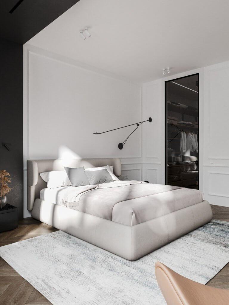 Bright and stylish apartment design - cgi visualization(24)