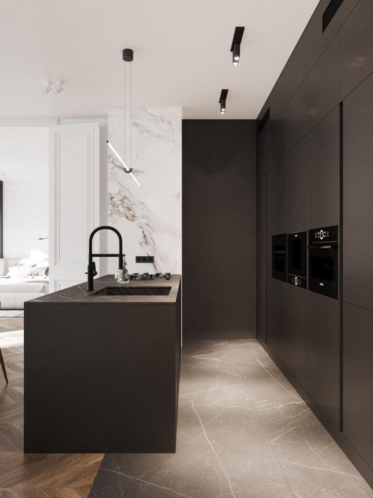Bright and stylish apartment design - cgi visualization(5)