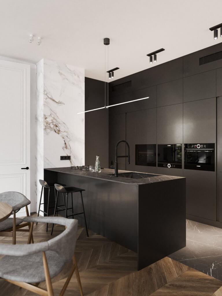 Bright and stylish apartment design - cgi visualization(7)