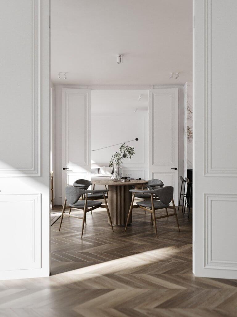 Bright and stylish apartment design - cgi visualization(9)