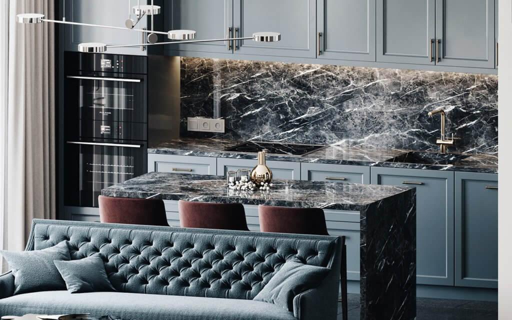 Elegant and luxury Apartment living design - cgi visualization