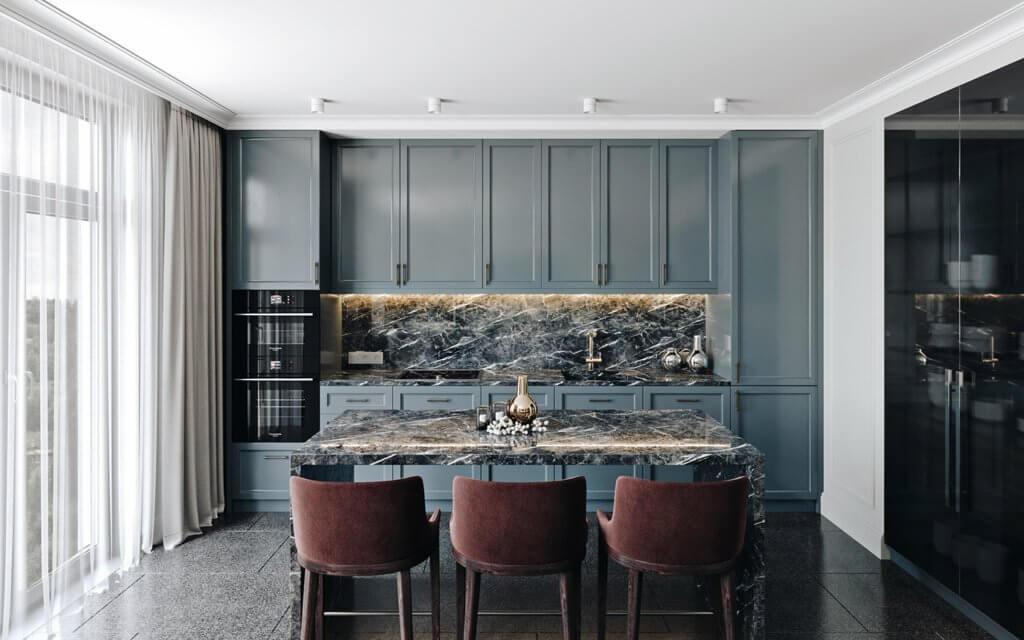 Elegant and luxury Apartment living design - cgi visualization(2)