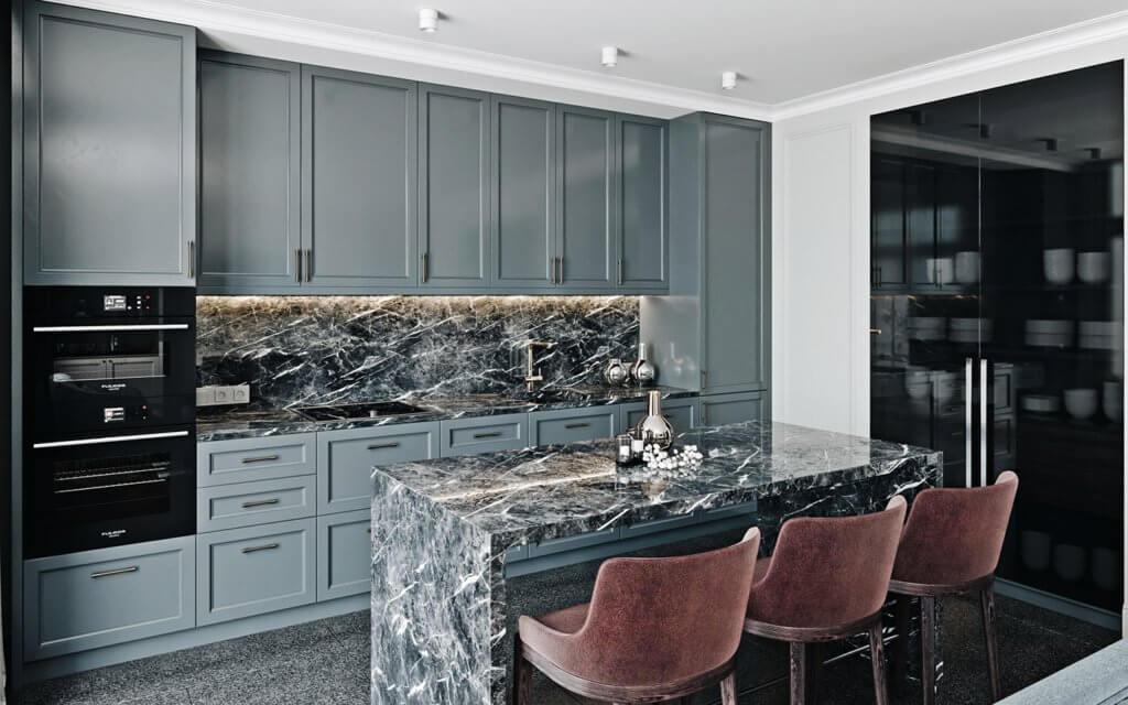 Elegant and luxury Apartment living design - cgi visualization(4)