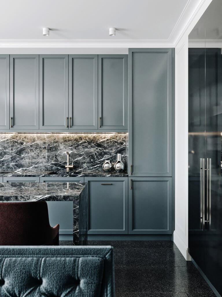 Elegant and luxury Apartment living design - cgi visualization(5)
