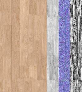 Wood floor - 14x FREE Photorealistic CGI Textures for Interior Design