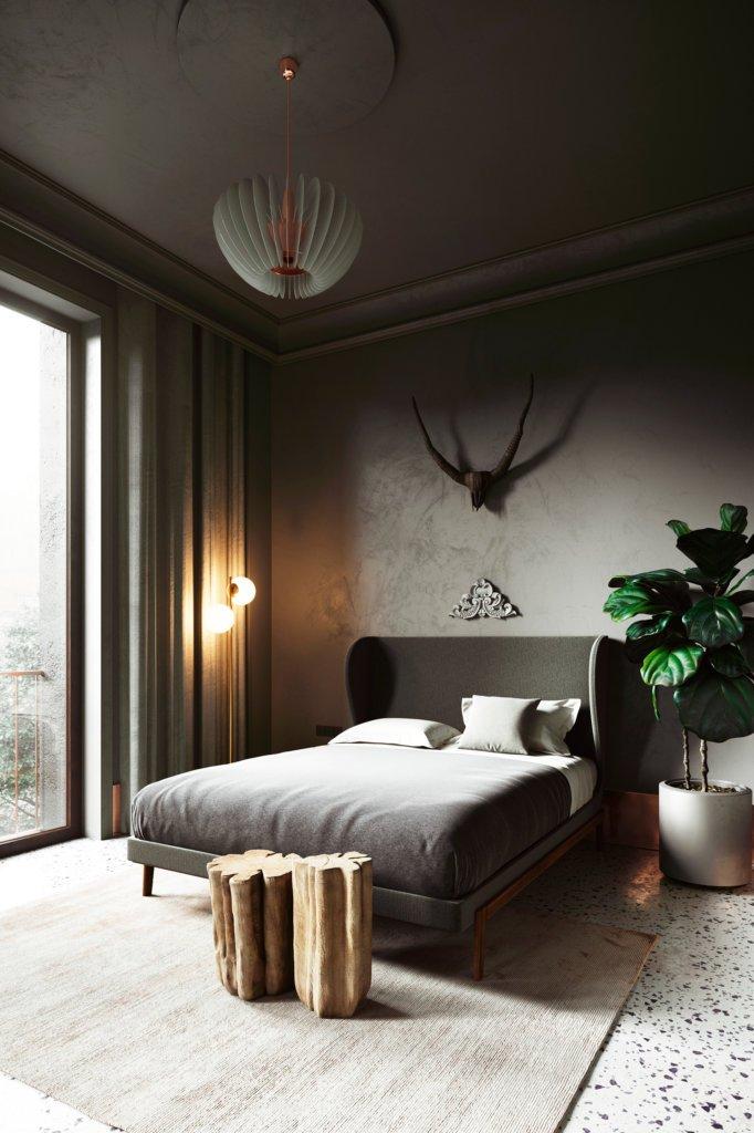 Classic Aparthotel design in Barcelona - cgi visualization 8
