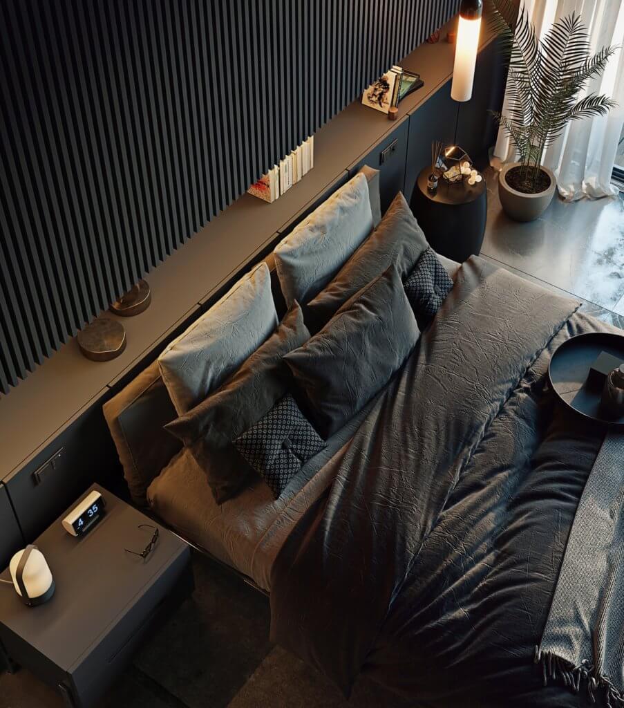 Cozy Bedroom design idea - cgi visualization(2)