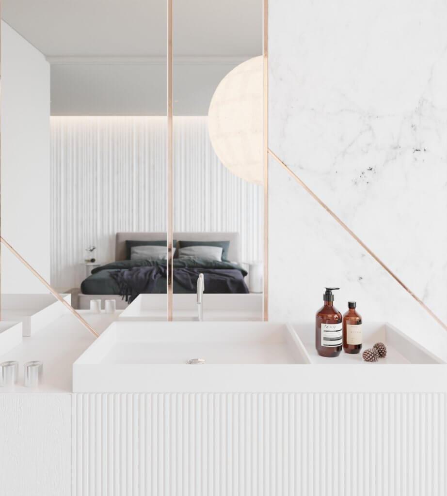 Inspiration White Apartment Design - cgi visualization(10)