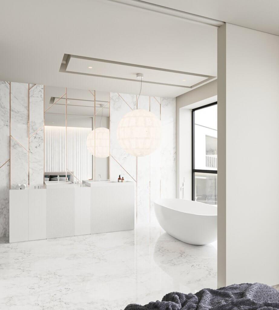 Inspiration White Apartment Design - cgi visualization(11)