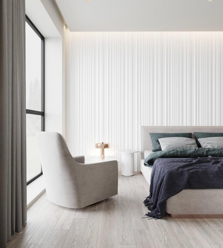 Inspiration White Apartment Design - cgi visualization(2)