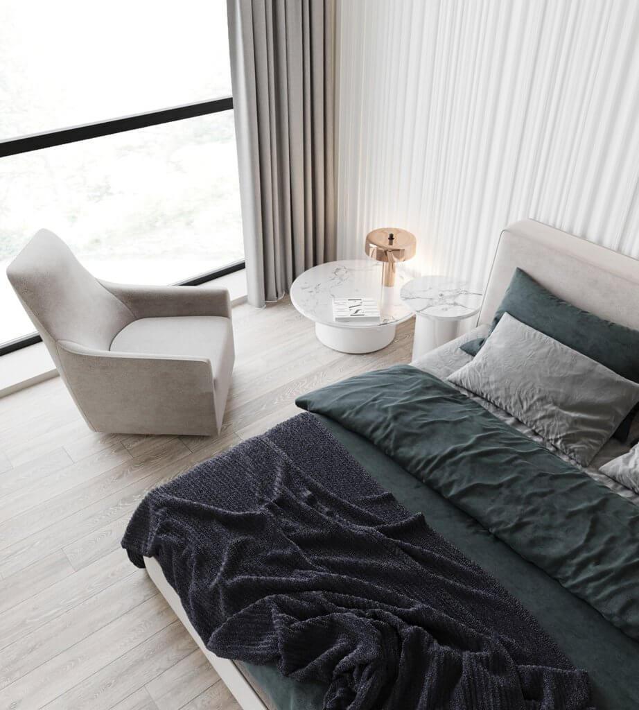 Inspiration White Apartment Design - cgi visualization(3)