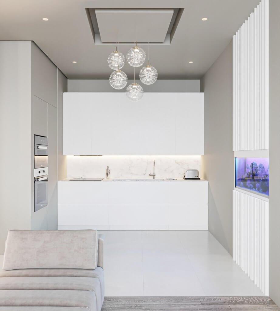Inspiration White Apartment Design - cgi visualization(5)