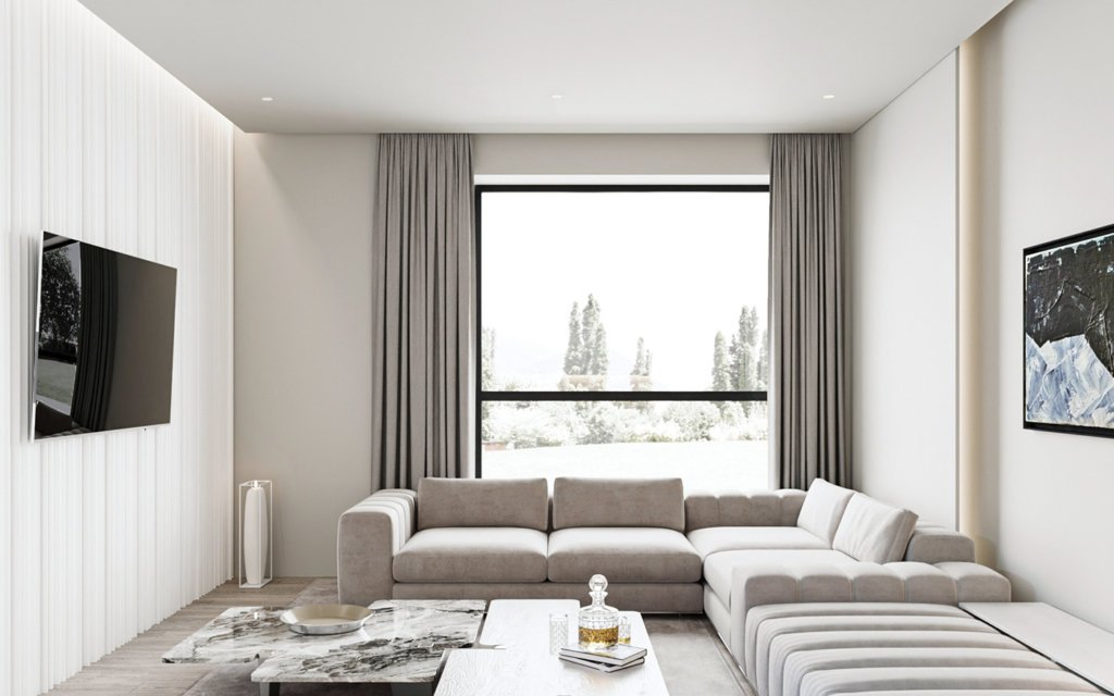 Inspiration White Apartment Design - cgi visualization(7)