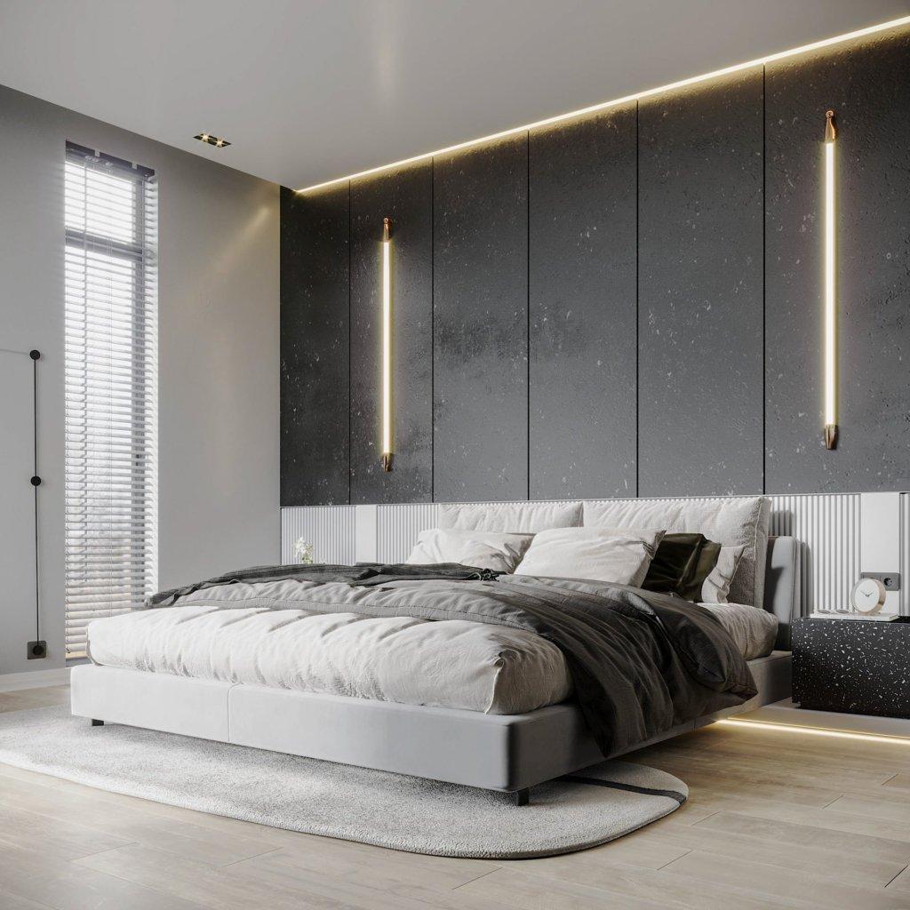 Interior Design trendy and minimalistic living room - cgi visualization(13)