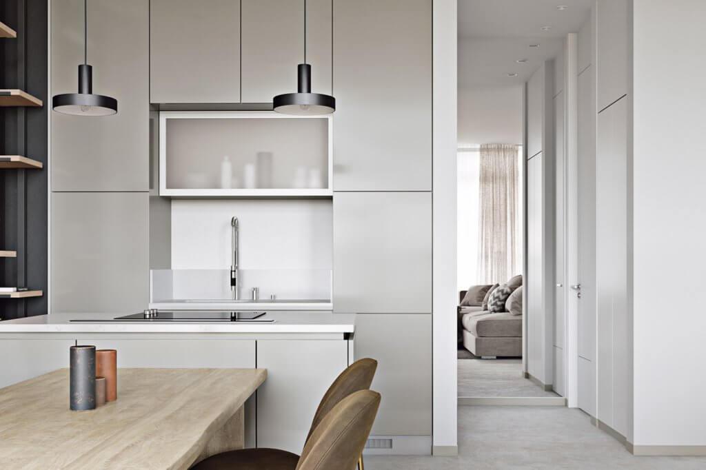 Light flat interior design - cgi visualization (3)