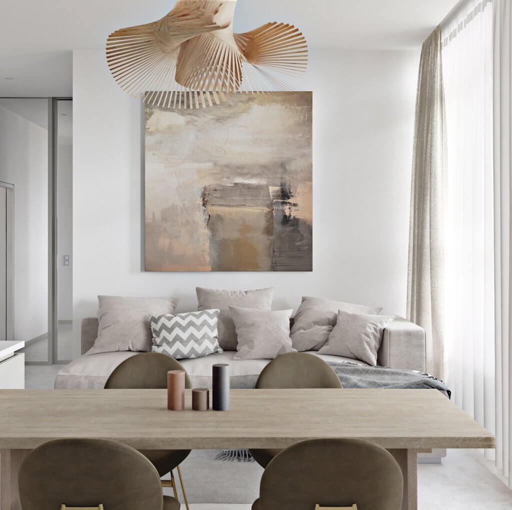 Light flat interior design - cgi visualization (7)