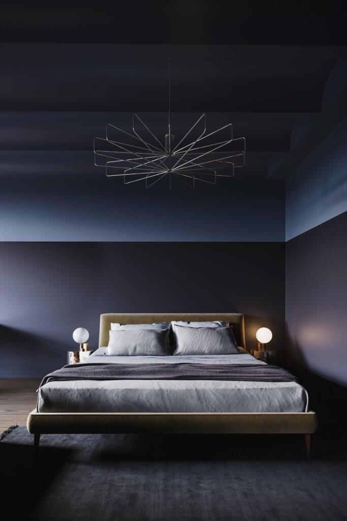 Retro Designer Apartment interior design - cgi visualization 11