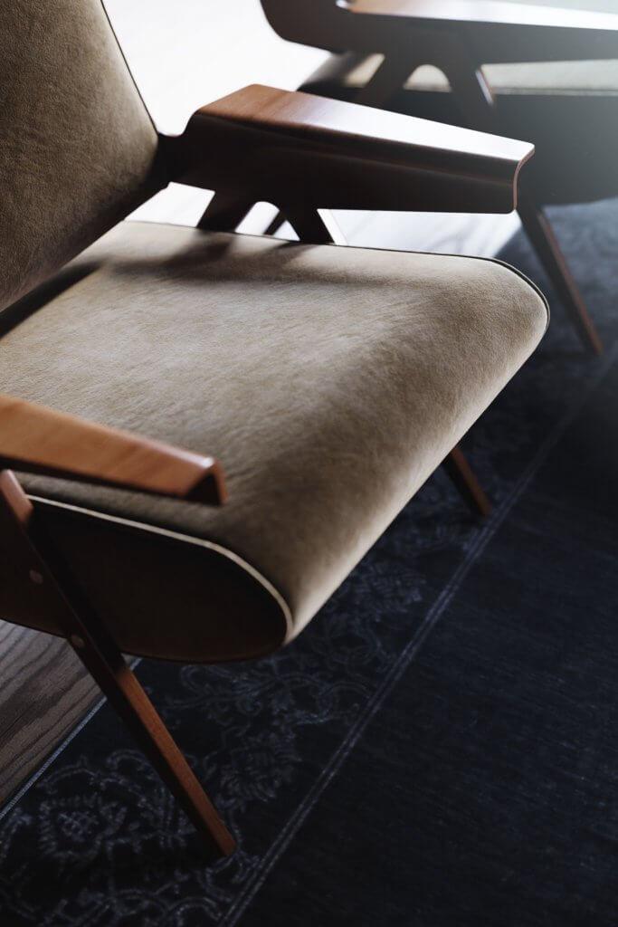 Retro Designer Apartment interior design - cgi visualization 2
