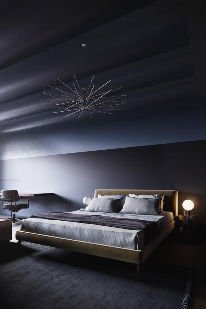Retro Designer Apartment interior design - cgi visualization 9