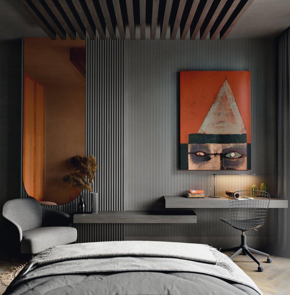 Stunning and modern Bedromm design ideas 5 - cgi visualization