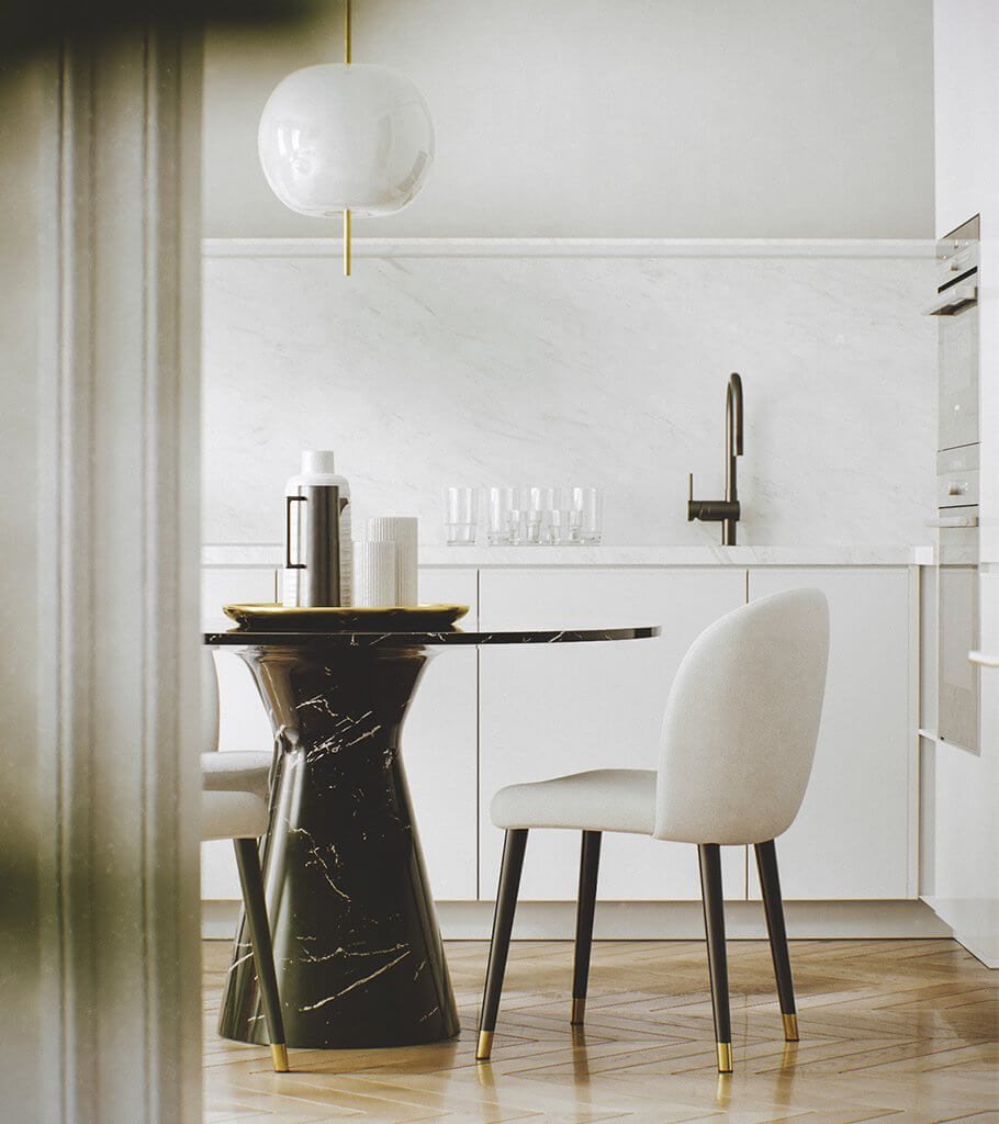Stunning and beutiful apartment interior design - cgi visualization