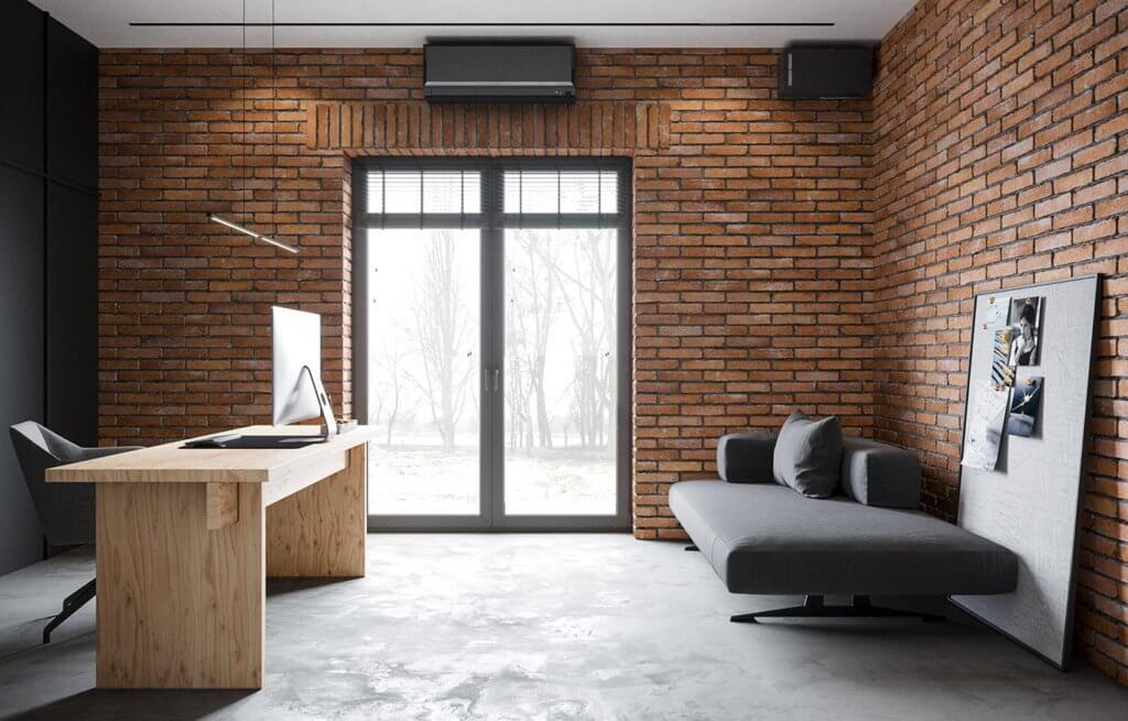 Jetblack interior design - cgi visualization