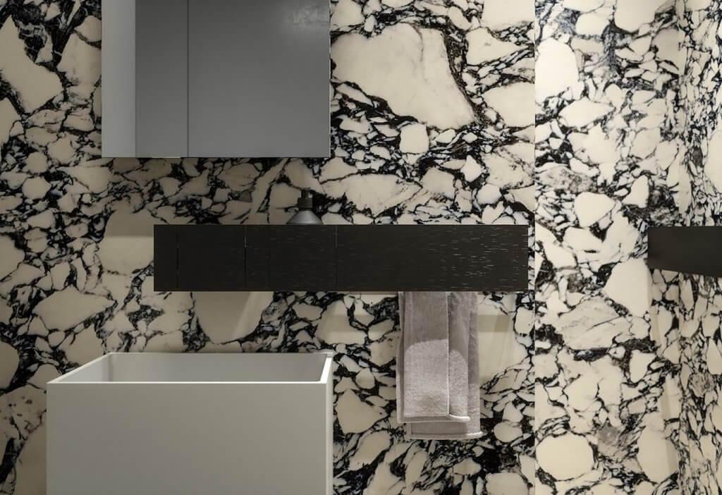 Trendy and stylish interior apartment - cgi visualization