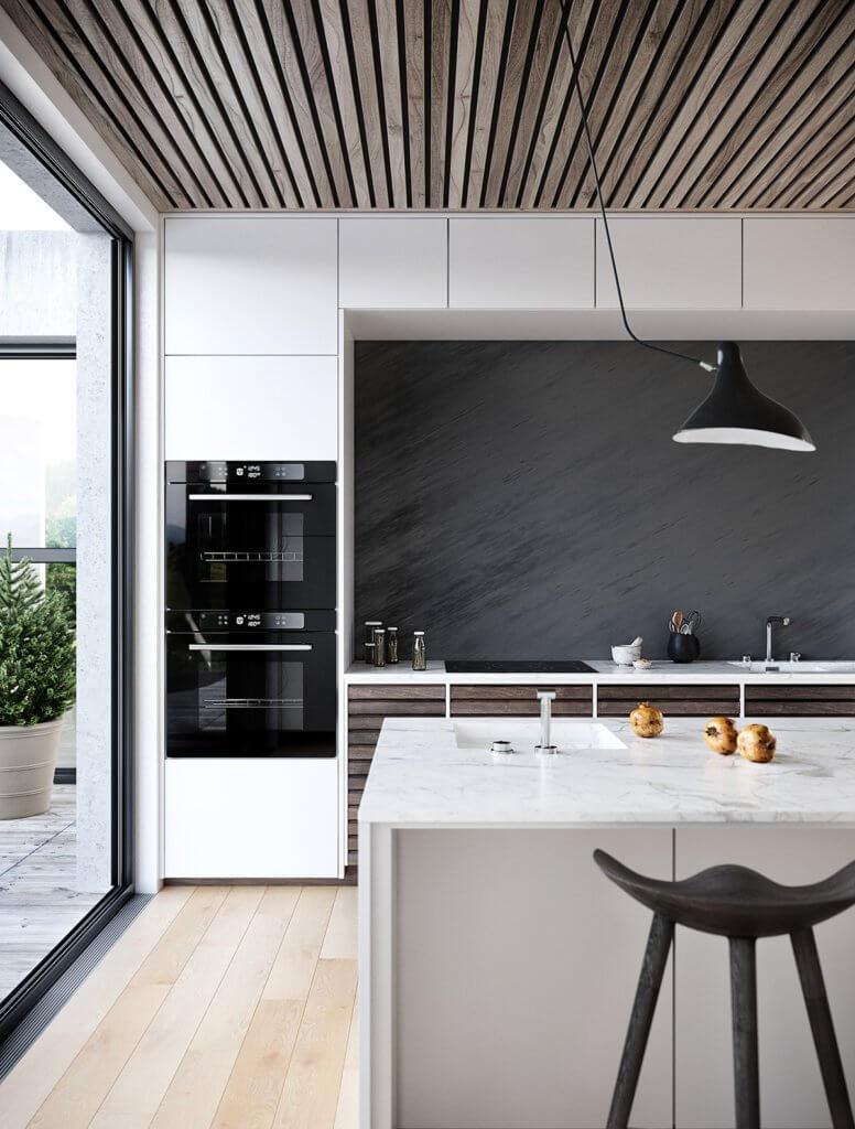 High end modern apartment space - cgi visualization