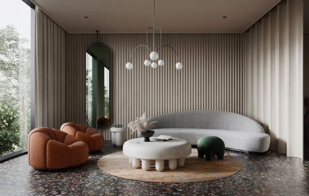Modern Villa interior design - cgi visualization