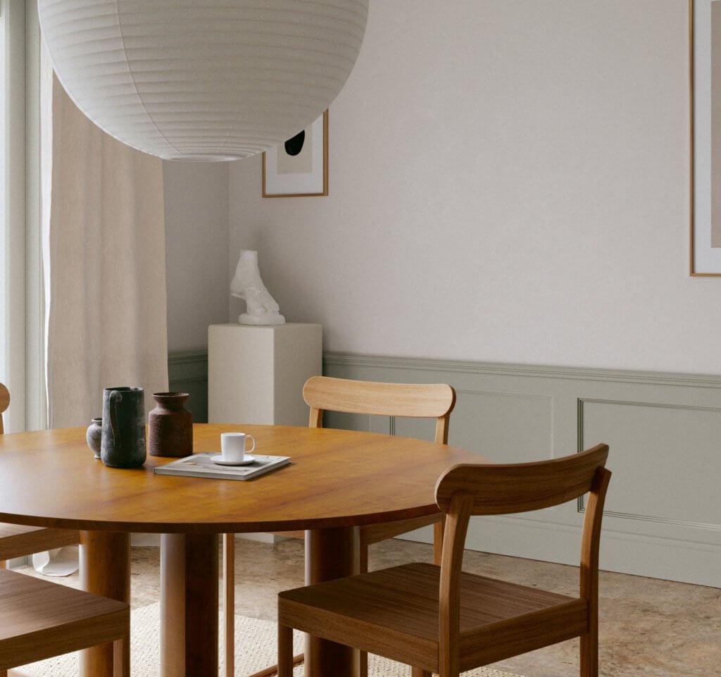 Open dining room design - cgi visualization