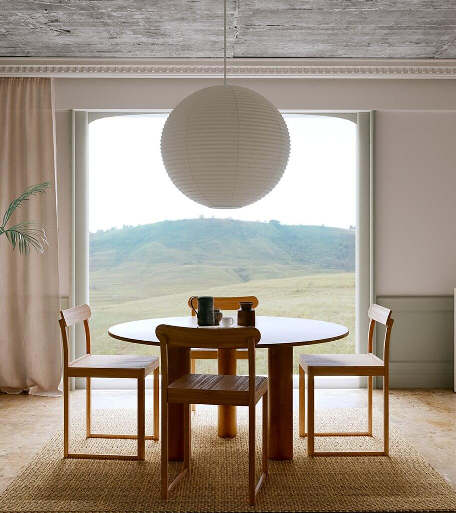 Open dining room design - cgi visualization