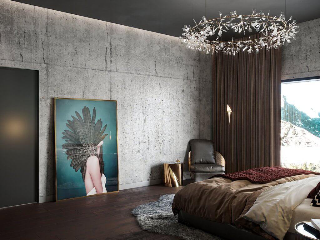 Solitude interior designer loft - cgi visualization