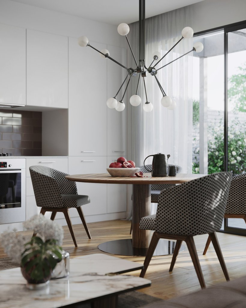 Stylish Apartment in Sydney - cgi visualization
