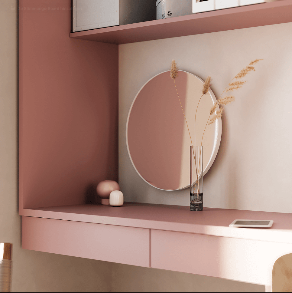 Dreams of pink interior - cgi visualization 4