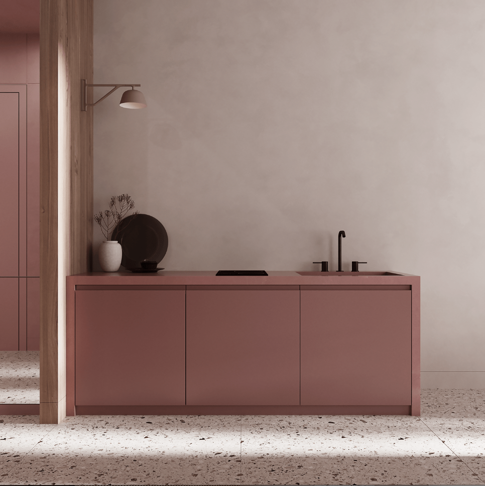 Dreams of pink interior - cgi visualization 6