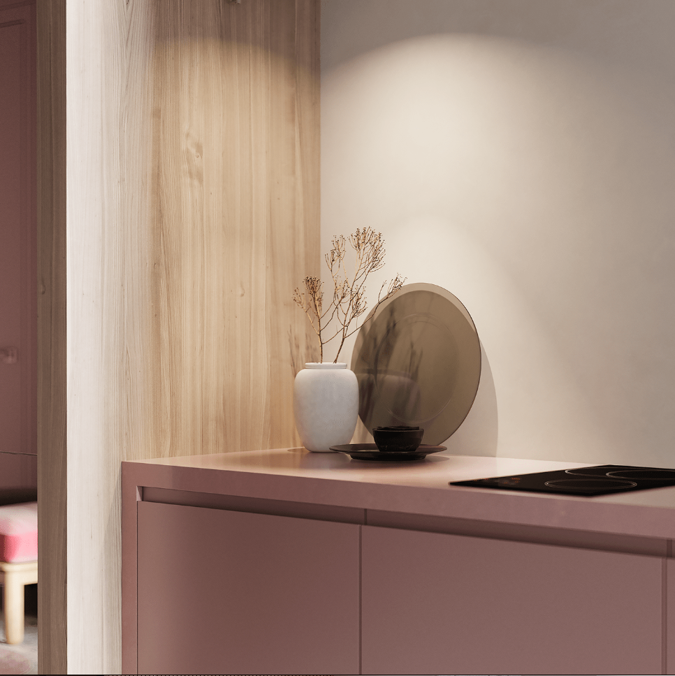 Dreams of pink interior - cgi visualization 7